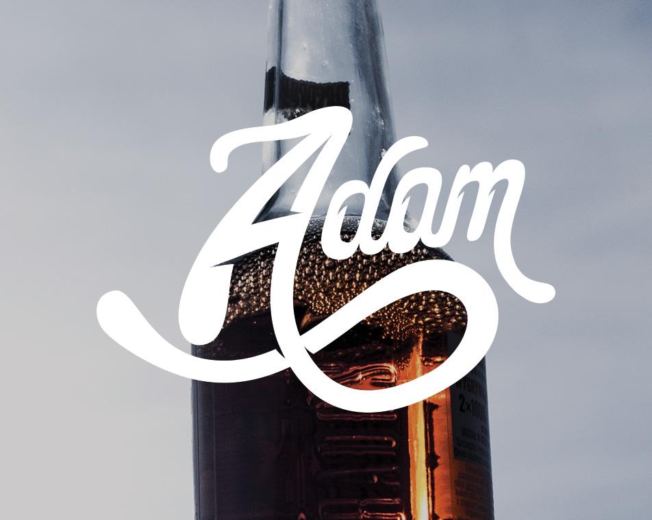 Étiquette Cidre Adam